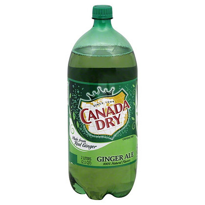 2Liter Canada Dry Ginger Ale 6pk