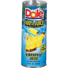Dole Pineapple - 8oz can 24pk