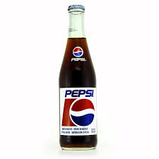 Mexican Pepsi 12oz Glass 24pk