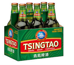 TSINGTAO BEER 12OZ