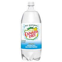 2Liter Canada Dry Seltzer 6pk