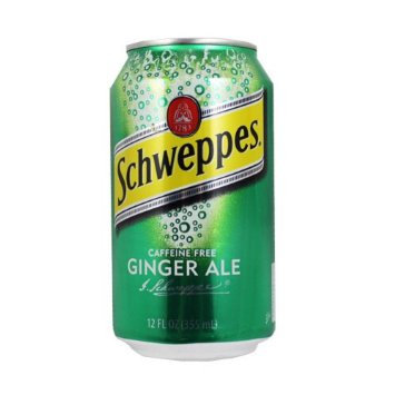 12oz can Schweppes Ginger Ale 24pk