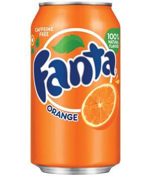 12oz can Fanta Orange 24pk