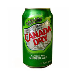 12oz can Canada Dry Ginger Ale 24pk