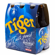 TIGER BEER 12OZ BOTTLE 24PK