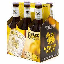Singha Beer 12oz BTL 24pk