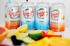 12oz can Canada Dry Seltzer Flavors 24pk