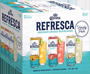 corona refresca slim can 12pk