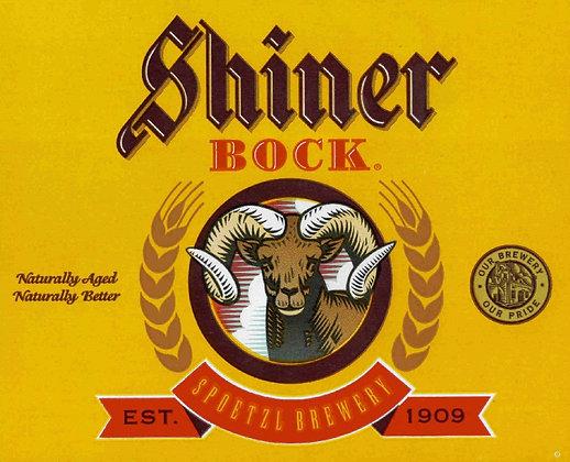 Shiner Bock 12oz btl 24pk