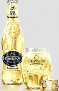 Strongbow Gold Apple Cider 12oz 24pk