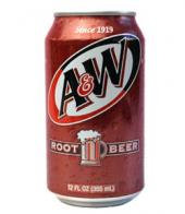 12oz can A&W Root Beer 24pk