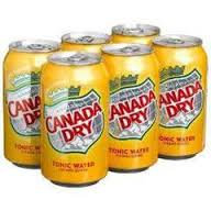 12oz can Canada Dry Tonic Water 24pk