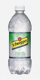 20oz Schweppes Seltzer Lemon Lime 24pk