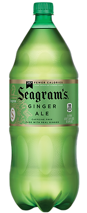 2Liter Seagrams Ginger Ale 8pk