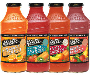 Mistic Juice with Carrot 12pk