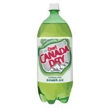 2Liter Canada Dry Diet Ginger Ale 6pk