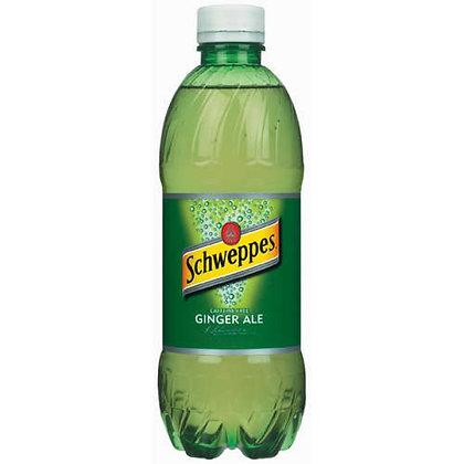 20oz Schweppes Ginger Ale 24pk