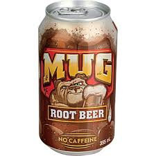 12oz can Mug  Root Beer 24pk
