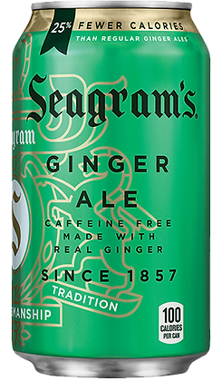 12oz can Seagram's Ginger Ale 24pk