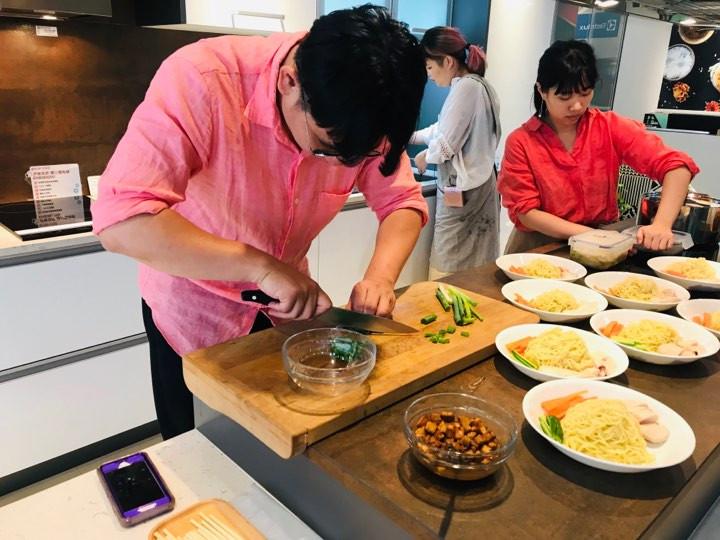 5/26台式泡菜舒肥雞肉涼麵廚藝教室活動紀錄