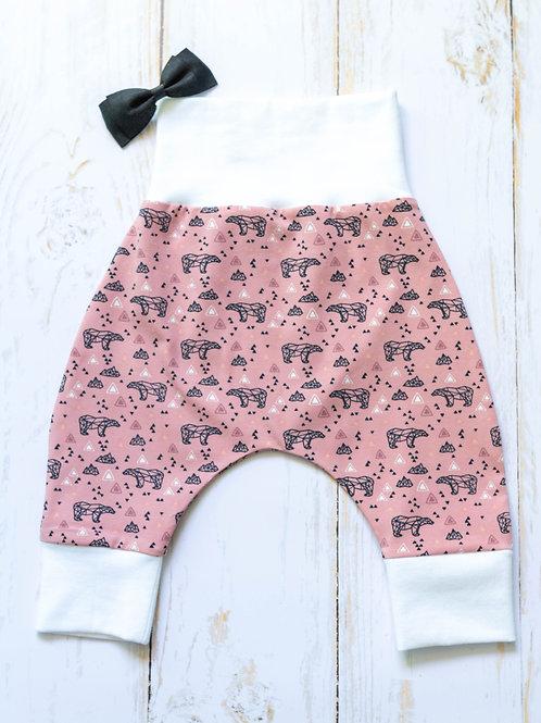 Pantalon sarouel évolutif 'Oursonne'