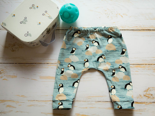 Pantalon legging puffins
