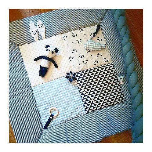 Tapis d'éveil bébé pandas principale