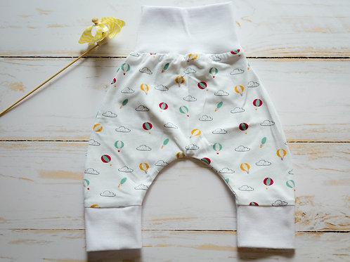 Pantalon sarouel montgolfières