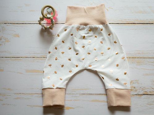 Pantalon sarouel ginkgo rose gold