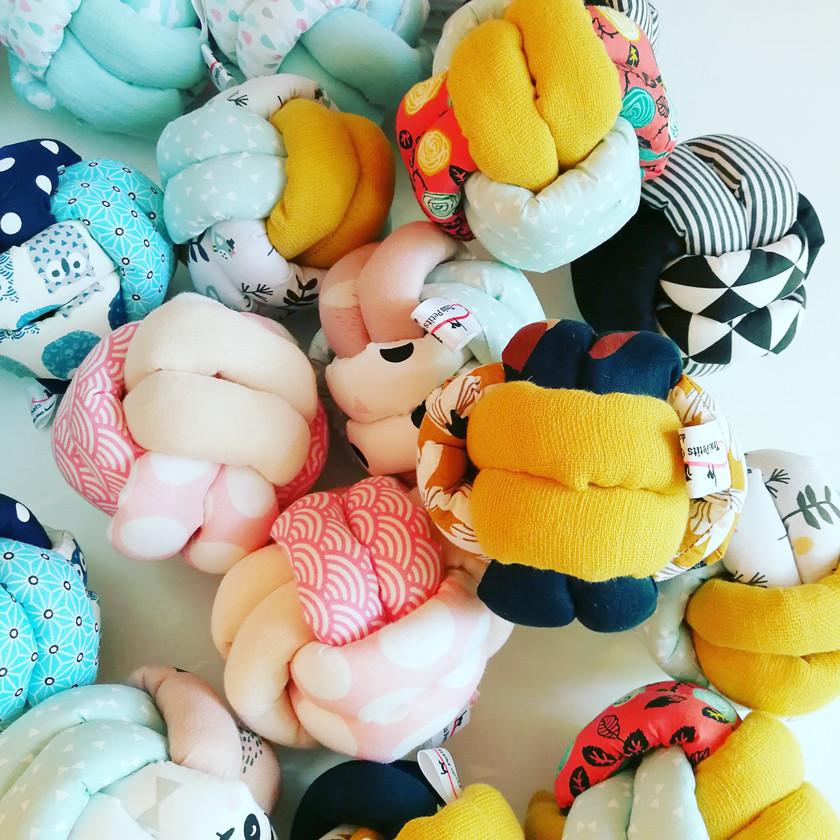 Balles noeud d'éveil jouet bébé