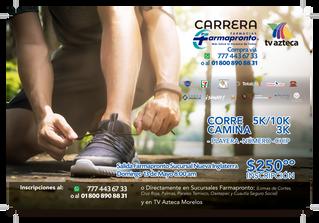 Carrera Farmapronto - Tv Azteca