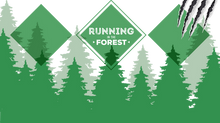 Running in the forest