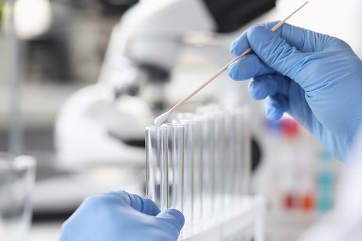 scientist-chemist-inserting-cotton-swab-into-glass-test-tube-closeup-dna-examination-conce