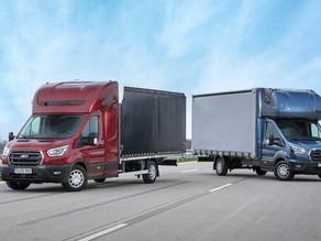 Ford je podaljšal Transita v izvedbi šasija s kabino
