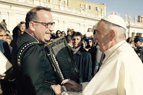 Papež Frančišek navdušen nad frajtonar'co!