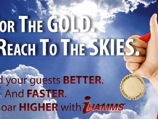Go for the GOLD. Reach to the SKIES.