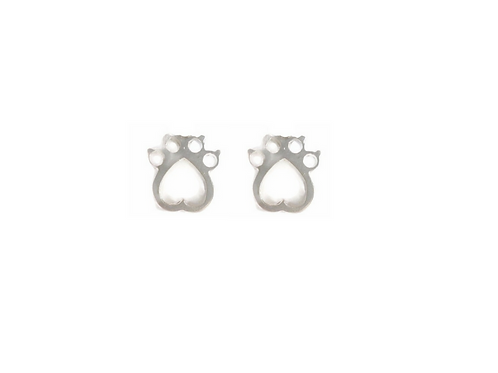 Simply BirthPaws Earrings in Sterling Silver