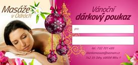 poukaz Vánoce 2020 Blanka Molnhuberova