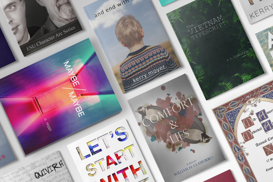 book covers by Well Lit Editing & Design Rosalie Krenger