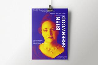 Bryn Greenwood VWS Poster