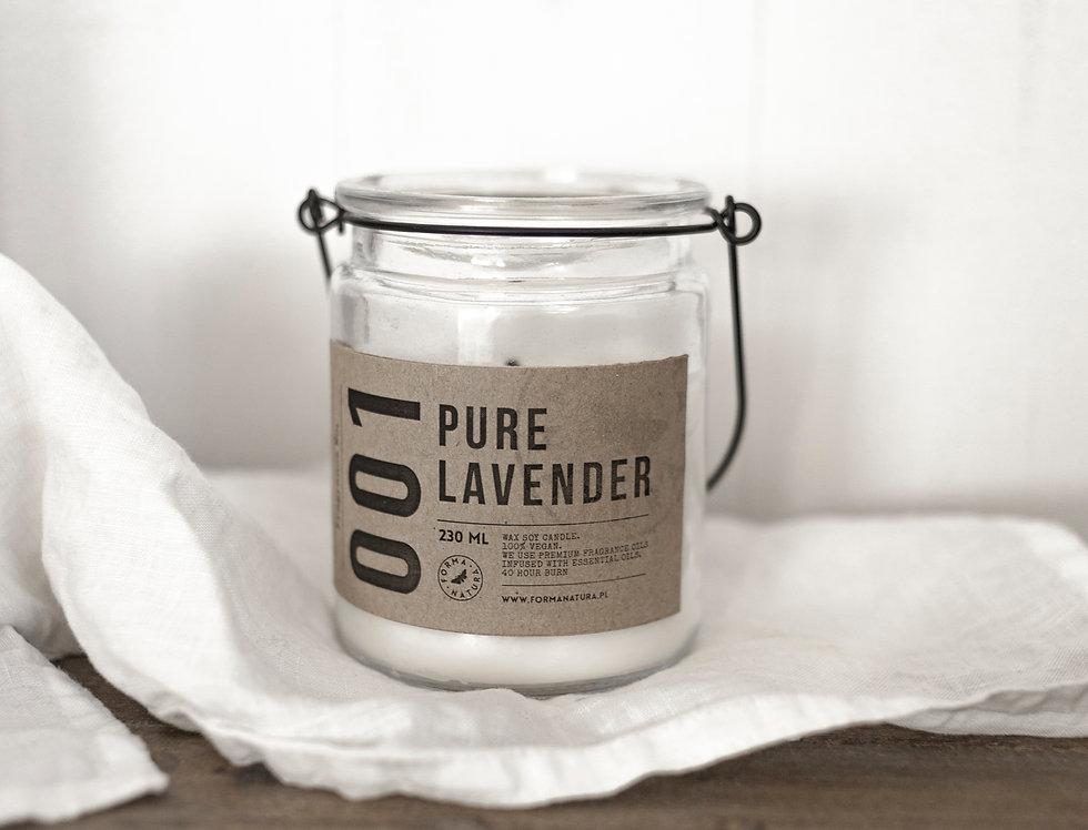 """Świeca No. 001 """"Pure Lavender"""""""