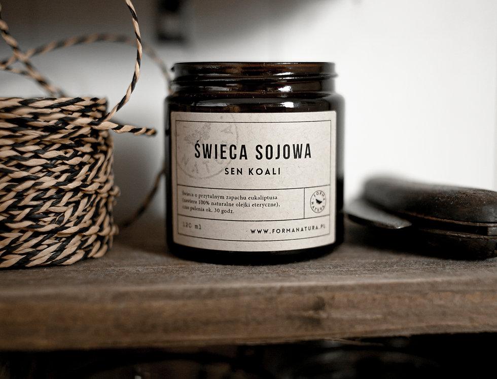 Świeca sojowa w słoiczku 120 ml