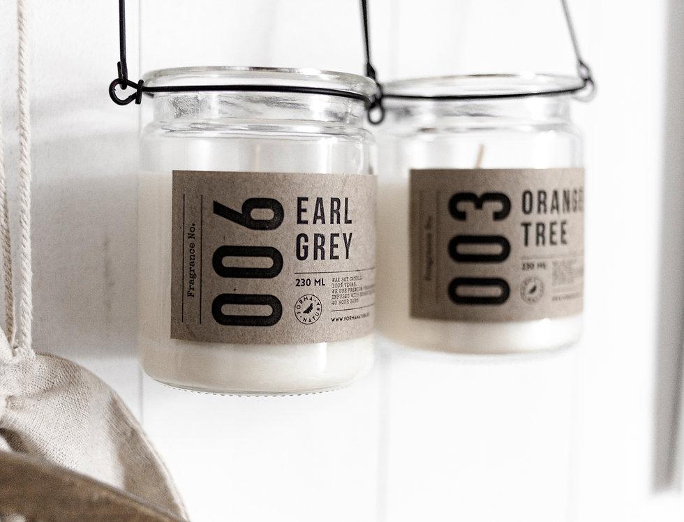"Świeca No. 006 ""Earl Grey"""