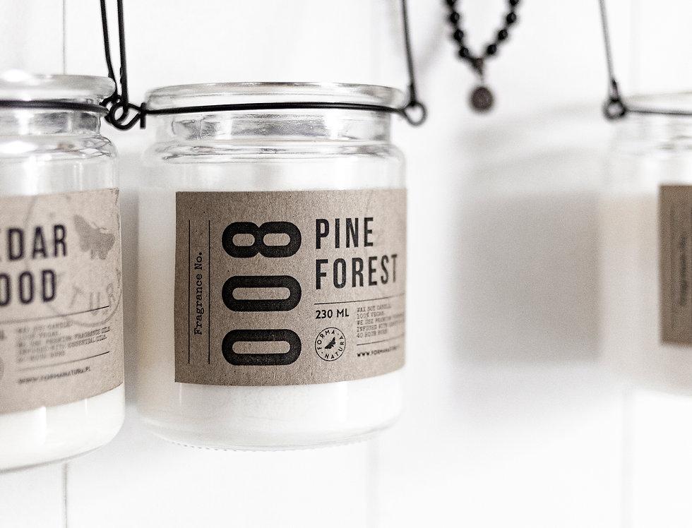 """Świeca No. 008 """"Pine Forest"""""""