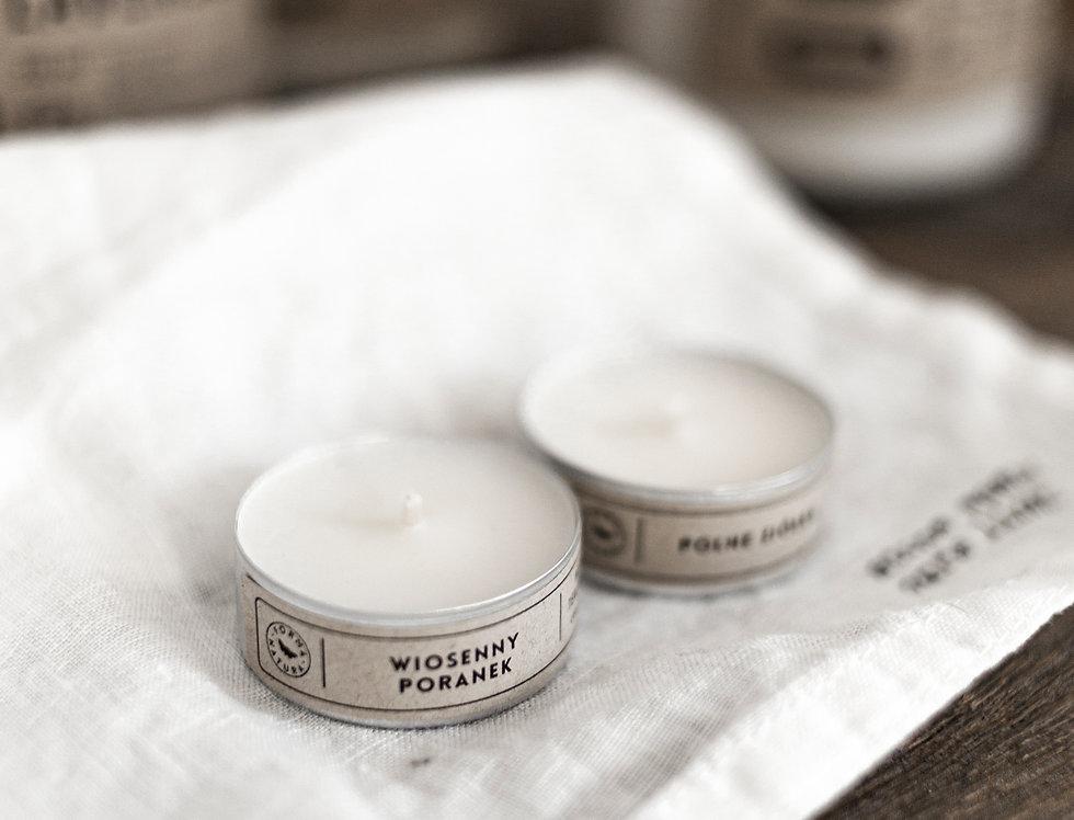 Zestaw naturalnych tealightów zapachowych (6 szt.)