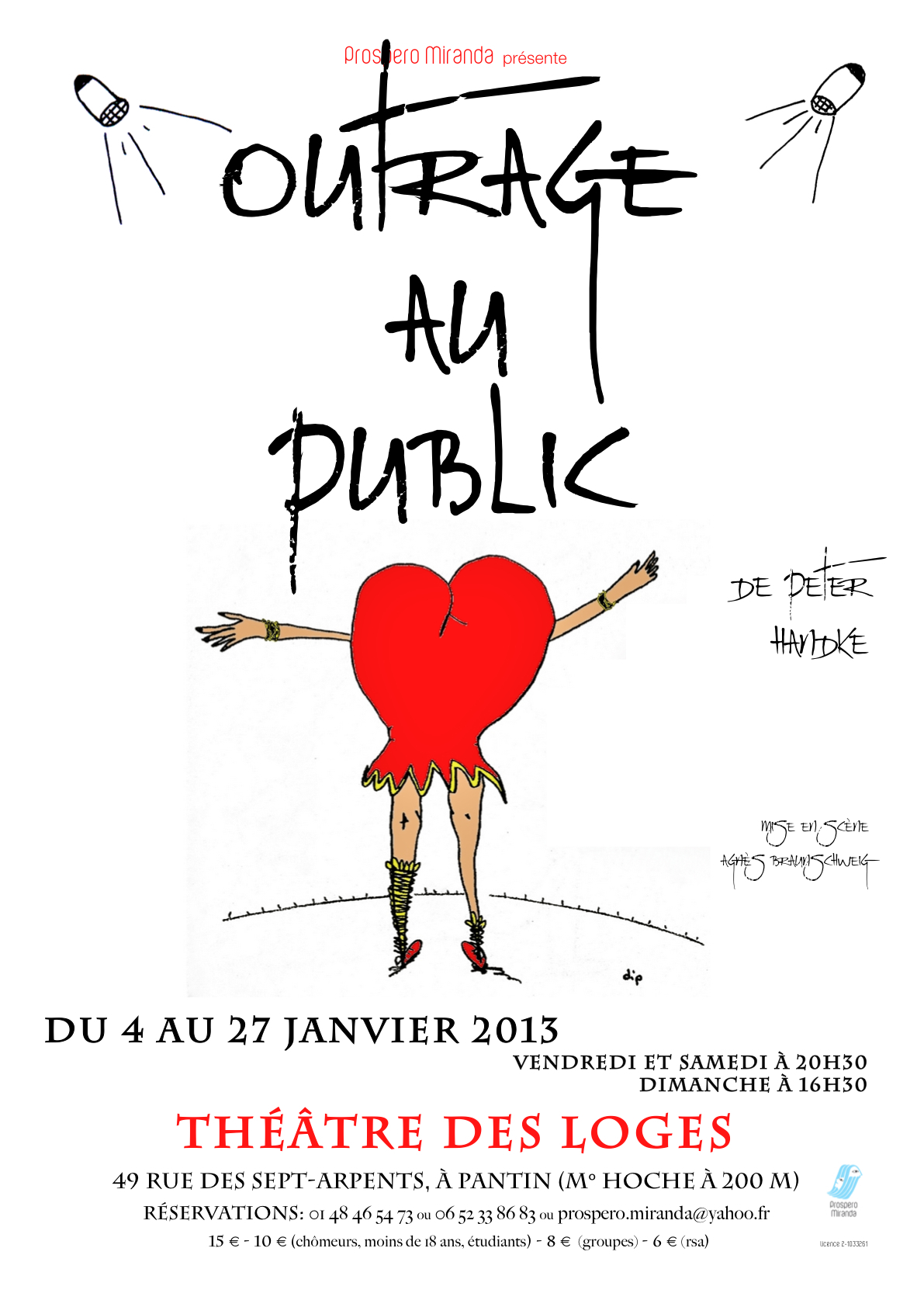 outrage affiche