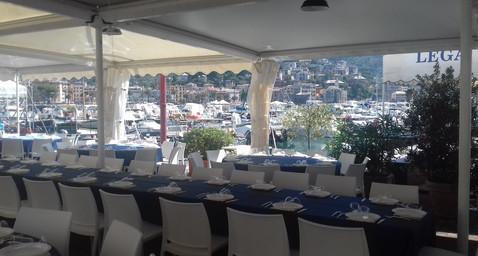Rapallo pranzo Yacht Club