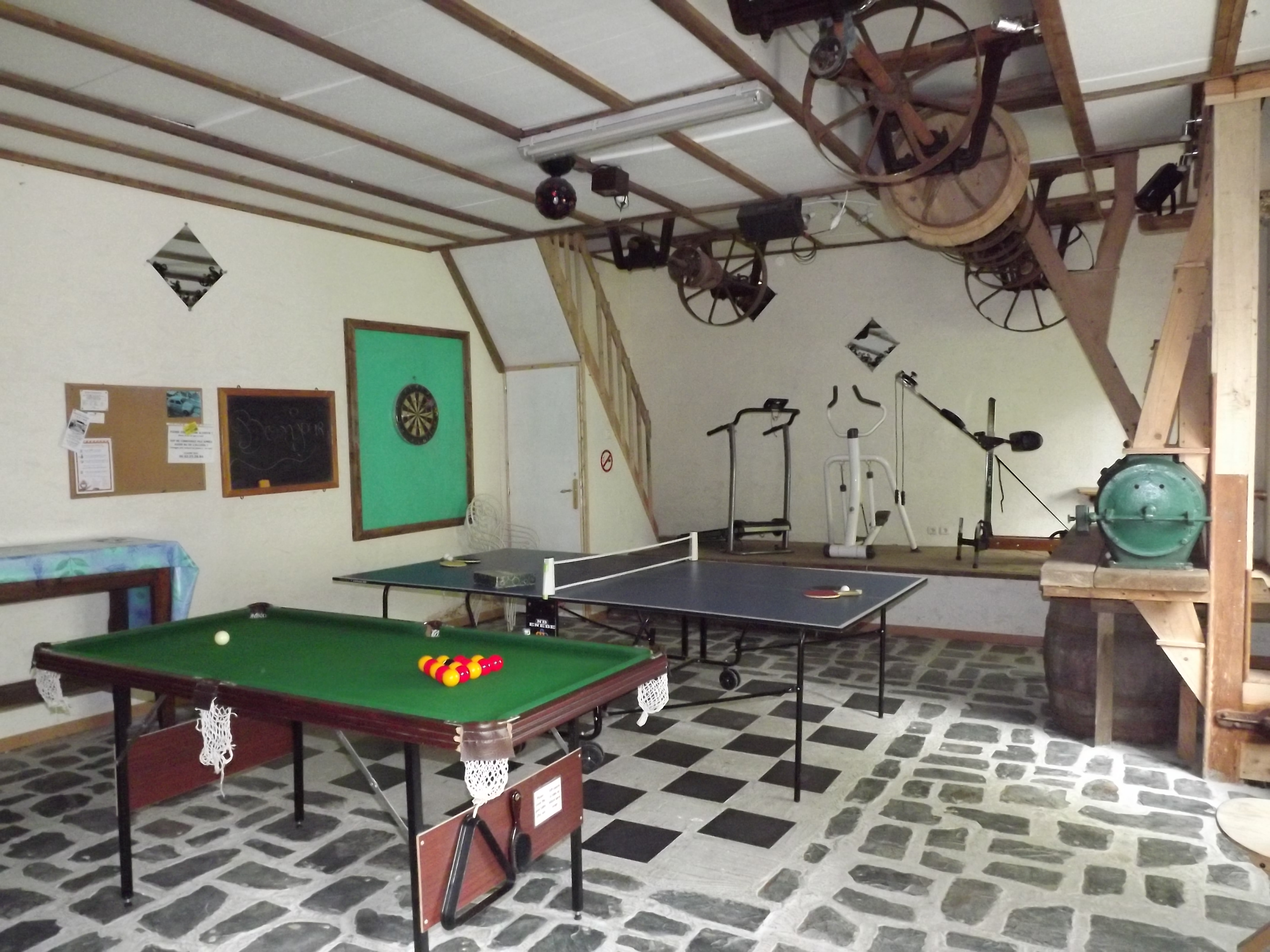 Games/party room