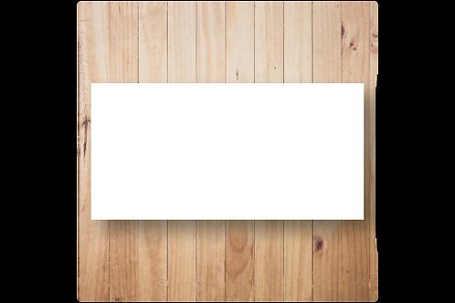 Blanco enkel DL formaat (10x20cm)