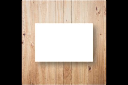 Blanco enkel postformaat (10x15cm)
